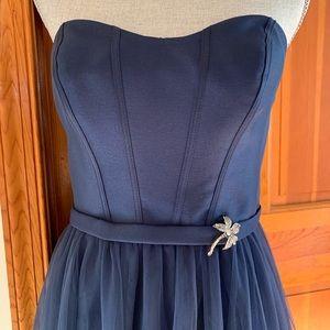 Oleg Cassini bridesmaid dress